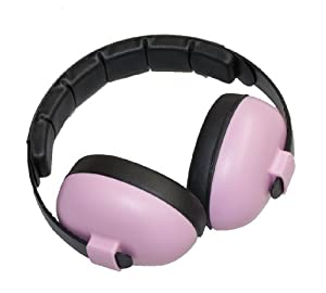 Baby Banz Baby-Girls Newborn Hearing Protection Earmuff, Pink, 3 months+ by Baby BanZ