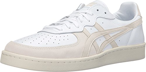 Onitsuka Tiger by Asics Unisex OT Tennis? White/White Sneaker Men's 10, Women's 11.5 Medium