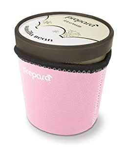 Prepara Neoprene Ice Cream Pint Sleeve, Pink