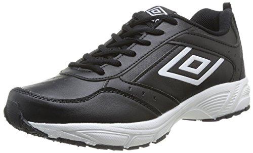 Umbro  Moston,  Sneaker uomo Nero Noir (202-Noir/Blanc) 42