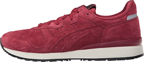 Onitsuka Tiger by Asics Unisex Tiger Alliance Burgundy/Burgundy Sneaker Men's 7, Women's 8.5 Medium