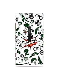 alDivo Premium Quality Printed Mobile Back Cover For Nokia Lumia 920 / Nokia Lumia 920 Back Case Cover (MKD194)