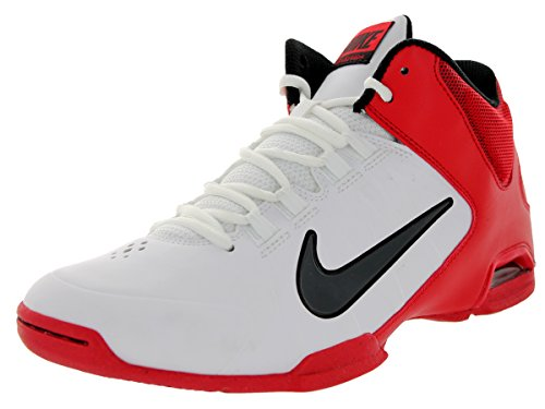 Nike Men's Air Visi Pro IV White/Anthrct/Unvrsty Rd/Blk Basketball Shoe 11 Men US (Nike Air Visi Pro Iv compare prices)
