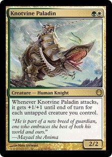 Magic: The Gathering - Knotvine Paladin - Duel Decks: Knights Vs Dragons front-965165