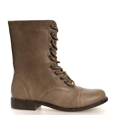Madden Girl Women's Gomby Stone Boot 6 M