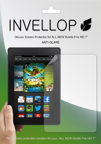 Buy  INVELLOP ANTI-GLARE 3-pack Screen protectors for ALL NEW Kindle Fire HD 7 7