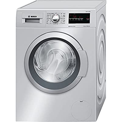 Bosch WAT24167IN Fully-automatic Front-loading Washing Machine (7.5 Kg, Silver)