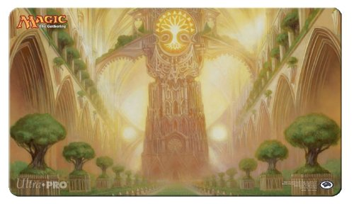 Magic The Gathering Playmat Ultra Pro Play Mat: Return To Ravnica: Temple Garden (Selesnya) / Version 5 front-338093