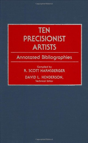 Ten Precisionist Artists: Annotated Bibliographies (Art Reference Collection)