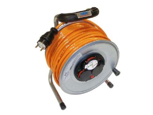 Kabeltrommel-Metall-40m-Verlngerung-PUR-Kabel-H07BQ-F-3x25mm-NEU-Metallkabeltrommel-Kabeltrommel-Baustellenkabel