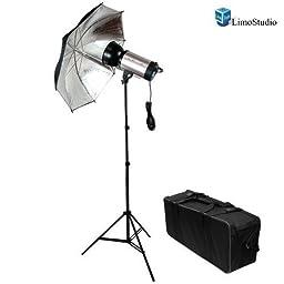 LimoStudio Photography Photo Studio 1000 Watt MonoLight Strobe Flash Lighting Umbrella Light Kit - 500W Studio Flash/Strobe, 40\