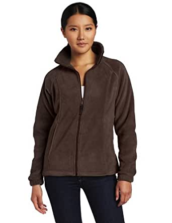 Columbia Women's Benton Springs Full Zip, Bark, X-Small