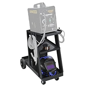 Mig Tig Welding Cart by CHICAGO ELECTRIC