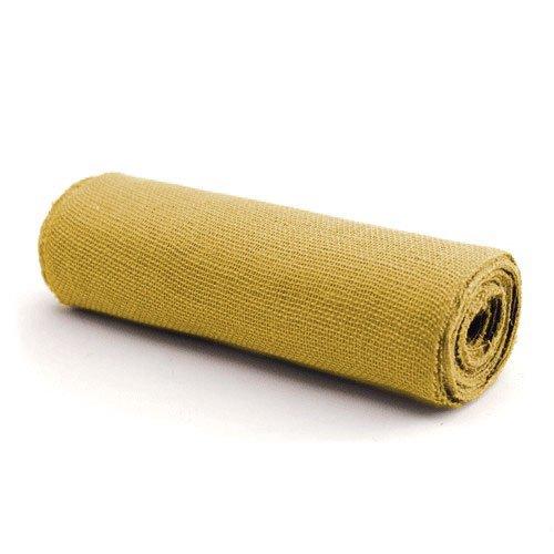 Koyal Wholesale Burlap Fabric Bolt, 20-Yard, Yellow
