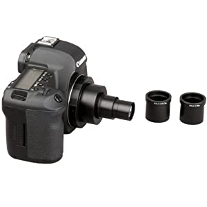 AmScope Canon SLR / D-SLR Camera Adapter for Microscopes - Microscope Adapter