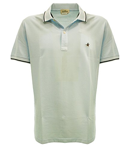 POLO CLASSICAV0032 Brooksfield Polo light piquet Celeste 58 Uomo