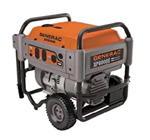 Generac 5606 XP Series XP8000E 12,000 Watt 410cc OHV Portable Gas Powered Generator With Electric Start (Discontinued by Manufacturer)