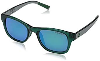 Converse Men's R005 Wayfarer Sunglasses, Emerald