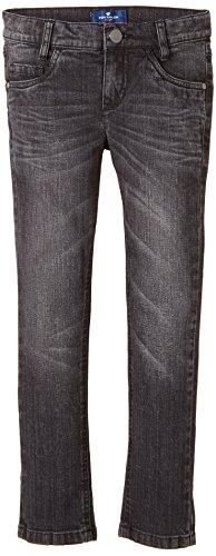 TOM TAILOR Kids Jungen Jeans grey bleach wash denim tom/410, Einfarbig, Gr. 176, Schwarz (rinsed black denim 1200)