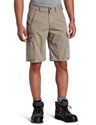 Carhartt Men's Cotton Ripstop Cargo Work Short,Desert,33