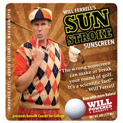 Will Ferrell's Sun Stroke Sunscreen