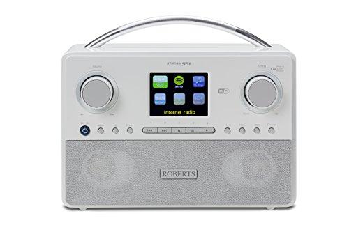 Roberts Radio Radio Stream93i Radio internet avec DAB +/FM/USB Blanc