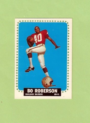 Bo Roberson 1964 Topps Football (Oakland Raiders)