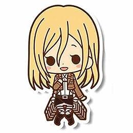ラバーストラップコレクション 進撃の巨人 コトブキヤ 単品 【クリスタ・レンズ】