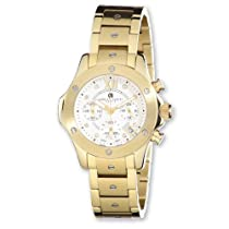 Ladies Charles Hubert IP-plated Stainless Silver 32mm Dial Watch