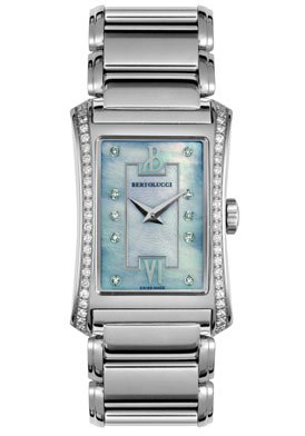 Bertolucci Women's 913.55.41.A.674 Fascino Diamond Stainless Steel Watch