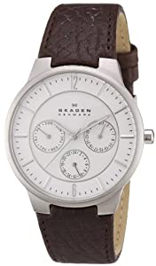 Skagen Men's 331XLSL1 Jonas Quartz/Multi Stainless Steel Dark Brown Watch