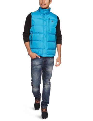 Timberland Howker Down Vest Men's Gilet Methyl Blue Small