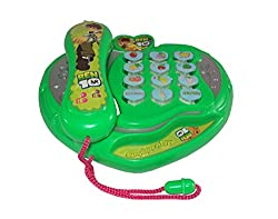 Parteet Musical Phone with Flashing Lights for Kids