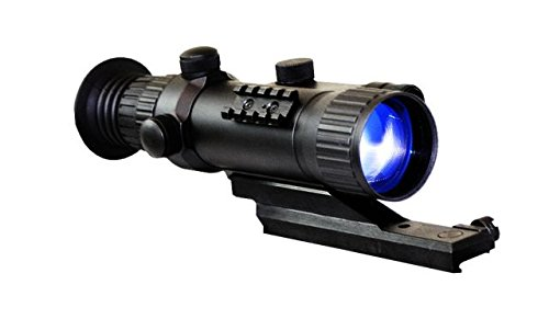 Avenger 3.0X50 Gen 2+ Night Vision Tactical Sight (Black) (3.1H X 8.6W X 4.2D)