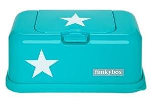 Funkybox - Caja Porta Toallitas Húmedas (Aqua Star) de Funkybox - BebeHogar.com
