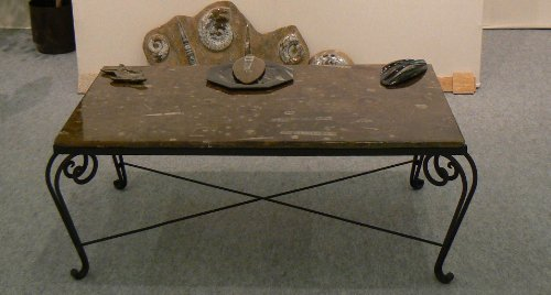 Table Basse Fer Forge Pas Cher