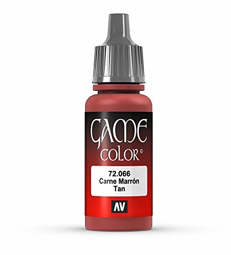 Vallejo Game Color Tan Paint, 17ml - 1