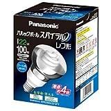 パナソニック 電球形蛍光灯 パルックボールスパイラル レフ形 電球100W形相当 E27口金 クール色    EFR25ED22SPF