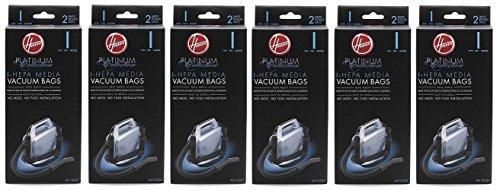 Hoover Type I HEPA Bag , AH10005 (6 Packs of 2: Total 12 bags) (Ah10005 Vacuum Bags compare prices)