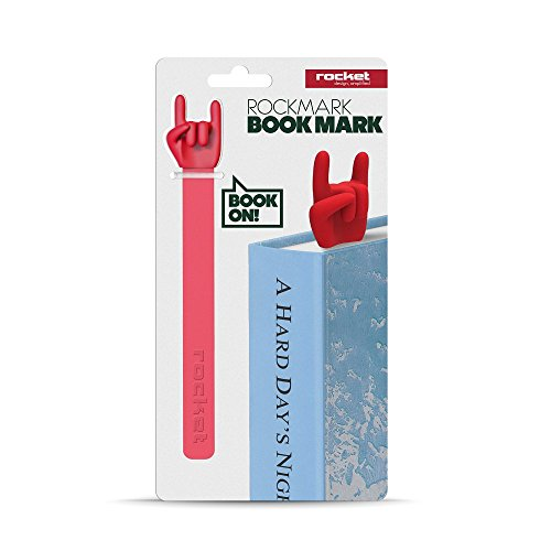 Rockmark. Bookmark by Rocket Design. Red Color. RK-ROCKM-RE (Hobbit Popcorn compare prices)