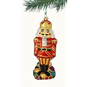 Barcana Shatterproof Christmas Nutcracker Ornament