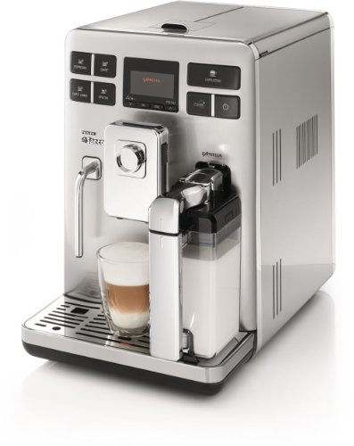 Philips Saeco HD8856/47 Exprelia Automatic Espresso Machine, Stainless Steel (Exprelia Saeco compare prices)