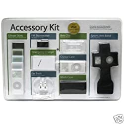 Accessory Kit for iPod Nano MP3 Player