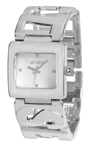 Jet Set J58564-642 - Orologio da polso donna, acciaio inox, colore: argento