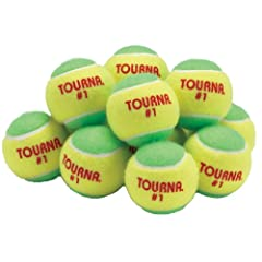 Buy Unique Sports Low Compression Quickstart Tennis Balls for Full Court (Pack of 12) by Unique
