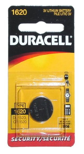 DURACELL DL-1620B Long-Life Lithium Button Cell BatteryB00006JPHB : image