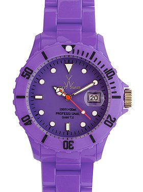 Neon Plasteramic Watch Collection - Ultra Violet from ToyWatch USA