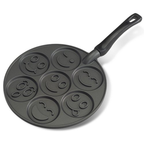 Nordic Ware Smiley Face Pancake Pan (Pan Waffles compare prices)