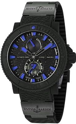 Ulysse Nardin Marine Diver Black Sea / Blue Sea Automatic COSC Watch - 263-92-3C/923