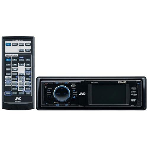 JVC KD-AVX11 DVD/CD Receiver with 2.7-Inch Monitor and iPod/Bluetooth/Satellite Ready Receiver